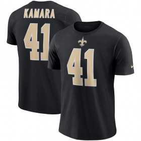 EZ1B7FBNU-SAIAK_T-Shirt NFL Alvin Kamara New Orleans Saints Nike Pride Noir pour Junior