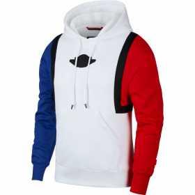 Sweat à capuche Jordan Sport DNA Blanc pour homme ////AT9962-100