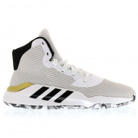 EE3896_Chaussures de Basketball adidas Pro Bounce 2019 Blanc or pour homme