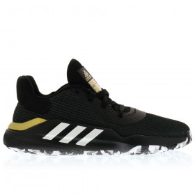 EF0469_Chaussures de Basketball adidas Pro Bounce 2019 low Noir gold
