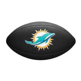 WTF1533BLXBMI_ballon de Football Américain Wilson Soft touch NFL team logo Miami Dolphins Noir