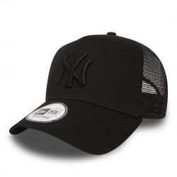 11579474_Casquette MLB New York Yankees New Era Clean Trucker Noir
