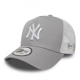 11588490_Casquette MLB New York Yankees New Era Clean Trucker Gris