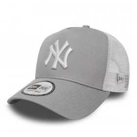 11588490_Casquette MLB New York Yankees New Era Clean Trucker Gris