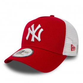 11588488_Casquette MLB New York Yankees New Era Clean Trucker rouge