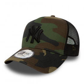 11579473_Casquette MLB New York Yankees New Era Clean Trucker camo