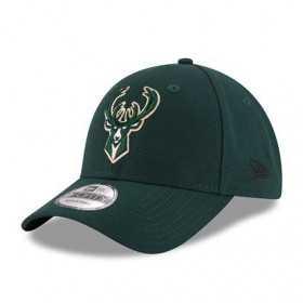 11405602_Casquette NBA Milwaukee Bucks New Era The League Adjustable 9Forty Vert