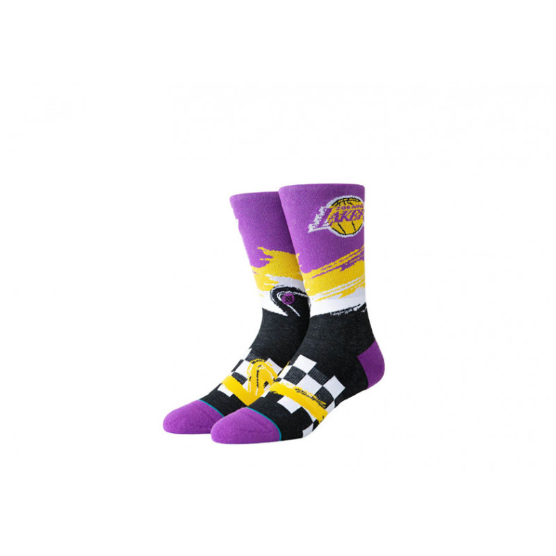 Chaussettes NBA Arena Stance Los Angeles Lakers Wave Racer Violet