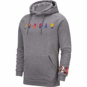 Sweat à capuche Jordan Sport DNA Gris pour homme //// AT9981-091