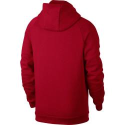 sweat à capuche Zippé Jordan Jumpman Fleece Rouge pour homme