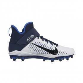 Crampons de Football Americain moulés Nike Alpha Pro Mid 2 Navy Pour Hommes //// AQ3209-104