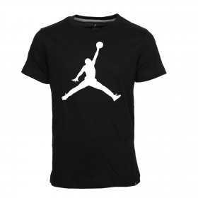 954293-023_T-shirt Jordan Big Logo Noir Pour Enfant