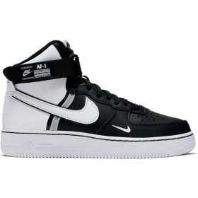 CI2164-010_Chaussure Nike Air Force 1 High LV8 2 (GS) Junior Blanc BLK