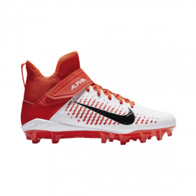 AQ3209-107_Crampons de Football Americain moulés Nike Alpha Pro Mid 2 Orange