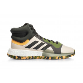 EF0489_Chaussure de Basketball adidas Marquee Boost Vert pour Homme