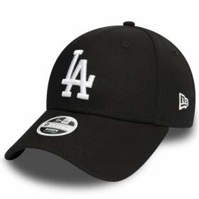 11946172_Casquette MLB Los Angeles Dodgers New Era League Essential 9Forty Noir pour femme