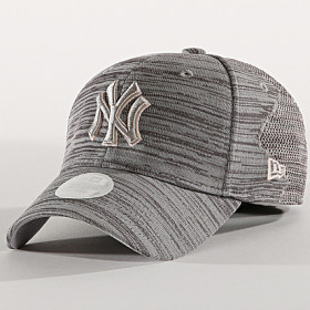 12040162_Casquette MLB New York Yankees New Era Engineered Fit 9Forty Gris pour femme