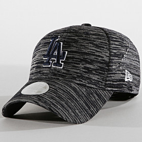 12040163_Casquette MLB Los Angeles Dodgers New Era Engineered Fit 9Forty Gris pour femme