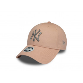 12040435_Casquette MLB New York Yankees New Era League Essential 9Forty Beige GN