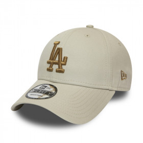 12040437_Casquette MLB Los Angeles Dodgers New Era League Essential 9Forty Beige GN