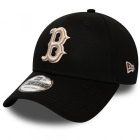 12040441_  Casquette MLB Boston Red Sox New Era League Essential 9Forty Noir