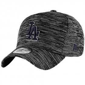 12040524_Casquette MLB Los Angeles Dodgers New Era Engineered Fit Trucker Noir