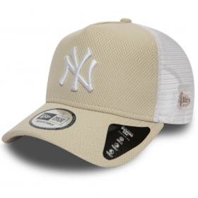 12040557_Casquette MLB New York Yankees New Era Diamond Era Trucker Beige