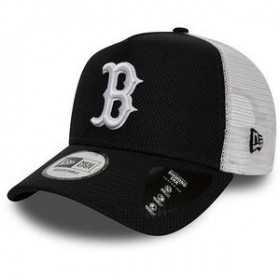 12040559_Casquette MLB Boston Red Sox New Era Diamond Era Trucker Noir