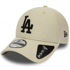 12040561_Casquette MLB Los Angeles Dodgers New Era Diamond Era 9Forty Beige
