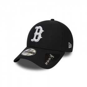 12040562_Casquette MLB Boston Red Sox New Era Diamond Era 9Forty Noir