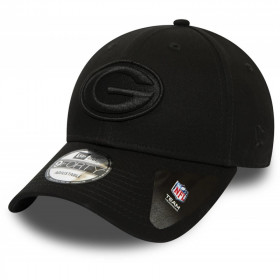 12040617_Casquette NFL Greenbay Packers New Era Snapback 9Forty Noir