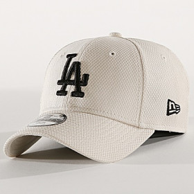 12061701_Casquette MLB Los Angeles Dodgers New Era Diamond Era 9Forty Ecru pour Junior
