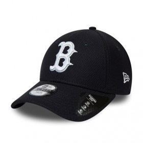 12061702_Casquette MLB Boston Red sox New Era Diamond Era 9Forty Noir pour Junior