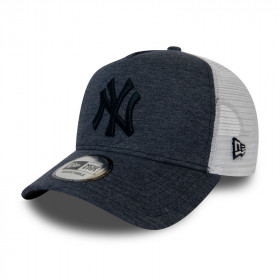 12040184_Casquette MLB New York Yankees New Era Trucker jersey Gris