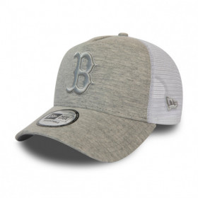 12040185_Casquette MLB Boston Red Sox New Era Trucker jersey Gris