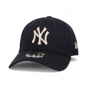 12040451_Casquette MLB New York Yankees New Era League Essential 39Thirty Bleu marine