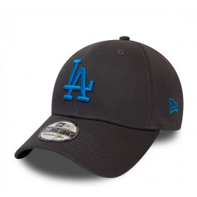 12040455_Casquette MLB Los Angeles Dodgers New Era League Essential 39Thirty Gris