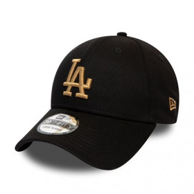 12040456_Casquette MLB Los Angeles Dodgers New Era League Essential 39Thirty Noir GD