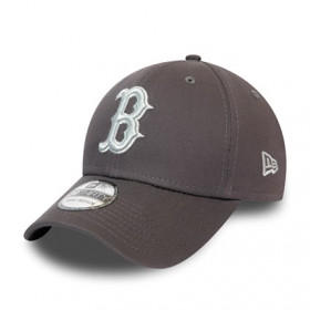 12040457_Casquette MLB Boston Red Sox New Era League Essential 39Thirty Gris