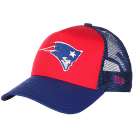12040466_Casquette NFL New England Patriots New Era Aframe Trucker Rouge pour Enfant