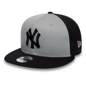 12040587_Casquette MLB New York Yankees New Era Character Front 9Fifty Gris pour Enfant