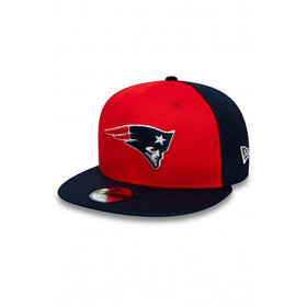 12040588_Casquette NFL New England Patriots New Era  Character Front 9Fifty Rouge pour Enfant