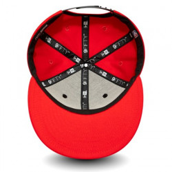 Casquette NBA Chicago Bulls New Era Character Front 9Fifty Rouge pour Enfant