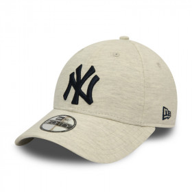 12040621_Casquette MLB New York Yankees New Era Jersey Essential 9Forty Gris