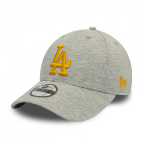 12040622_Casquette MLB Los Angeles Dodgers New Era Jersey Essential 9Forty Gris