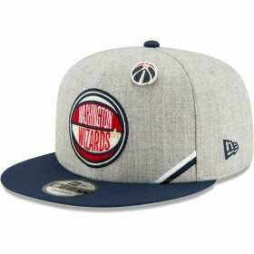 12041595_Casquette NBA Washington Wizards New Era Draft 2019 Snapback 9fifty Gris