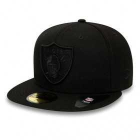11941787_Casquette NFL Oakland Raiders New Era Tonal 59Fifty Noir