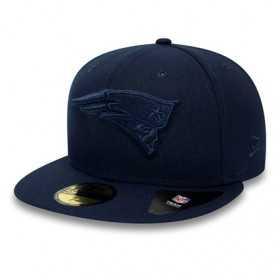 11941788_Casquette NFL New England Patriots New Era Tonal 59Fifty Bleu marine