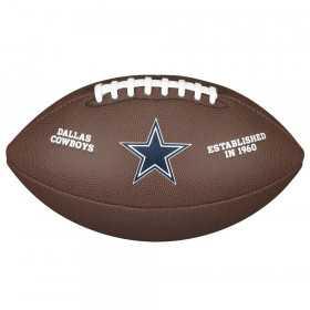 WTF1748XBDL_Ballon Football Américain NFL Dallas Cowboys Wilson Licenced