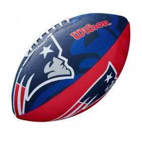 WTF1534XBNE_Ballon Football Américain NFL New England Patriots Wilson Team Logo Junior